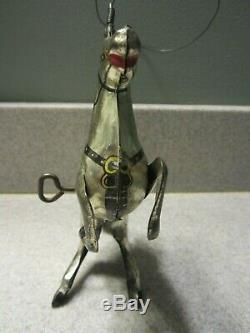 1938 MARX Vintage THE LONE RANGER Tin Litho Action Toy Hi-Yo Silver with Lasso