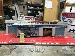 1962 Vintage Toy Tin Garage Sears/allstate