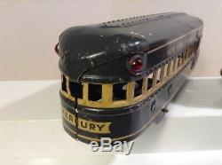MARX ELECTRIC VINTAGE MERCURY 7 Pc New York Central GRAY passenger Articulated