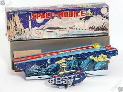 Marx Horikawa Nomura Masudaya Space Mobile Tin Train Japan Vintage Robot Toy