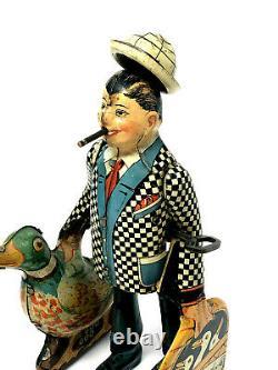 Marx Joe Penner Wanna Buy a Duck, Vintage 1930's Wind-Up, Tin Litho