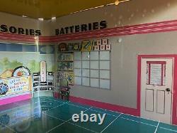 Marx Vintage Tin Toys Sky-View Service Center Parking Garage