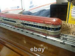 Marx vintage antique tin toy train passenget set