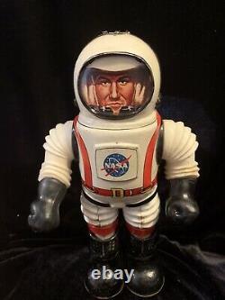 NASA COLONEL HAP HAZARD 1968 JAPAN by LOUIS MARX Co. GOOD COND. RARE VINTAGE TOY