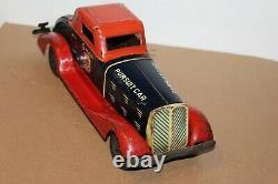 Nice Vintage Marx Wind Up G-man Pursuit Car