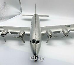 Original Marx 1950 American Airlines Nc2100 Vintage Tin Airplane Toy