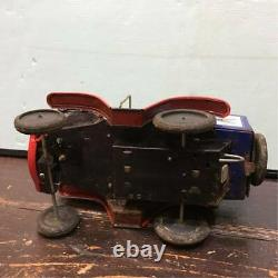 RARE 1960's MARX TOYS NUTTY MADS DRIN CAR! TIN JAPAN VINTAGE FIGURE RETRO F/S