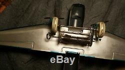 RARE Vintage Marx 14 Tin Bomber Airplane Motor works USA Very good