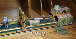 Rare 1920's Vintage Marx Main Street Tin Windup Toy