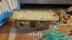 Rare 1967 MARX Daktari playset- with box Vintage Toy 1967 ivan tors films inc