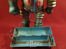 Rare Vintage Marx High Bouncer Moon Scout Tin Toy Spaceman Astronaut Robot