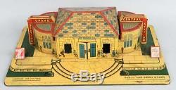 VINTAGE ANTIQUE 1930s MARX TIN LITHO O GAUGE GRAND CENTRAL TRAIN STATION