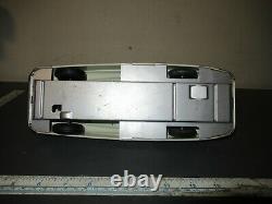 VINTAGE MARX TIN LITHO DICK TRACY FRICTION POLICE SQUAD CAR w MACHINE GUN