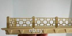 VTG Marx Tin Dollhouse Colonial Mansion #4048 with Furniture Box 1959