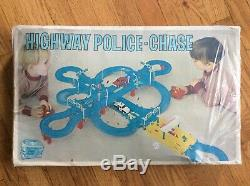 VTG, SEARS, BIG TOY BOX, HIGHWAY POLICE CHASE, 1960s, JAPAN, 57047, SUPER RARE
