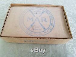 Vintage 1930's Marx Hollywood Bungalow With Car Original Box Tin