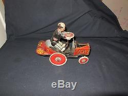 Vintage 1931 Marx Tin Wind Up Coo Coo Car #7