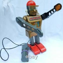 Vintage 1950's MARX Yonezawa MR. MERCURY Remote Controller Tin Toy, not working