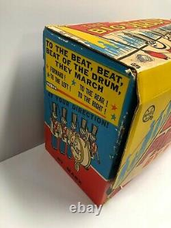 Vintage MARX TOYS The Big Parade Marching Band in original box (not working)