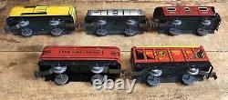 Vintage MARX Tin Litho Train Set New York Center Marlines Cars