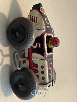 Vintage Marx #5 Midget Racer Race Car Wind Up RARE