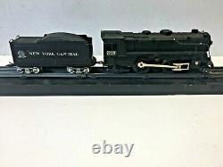 Vintage Marx 999 Diecast Steam Engine Litho Train Set O Scale Runs
