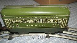 Vintage Marx Army Supply Train Set #500