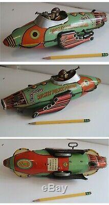 Vintage Marx Buck Rogers tin toy