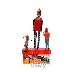 Vintage Marx Charleston Trio Tin 1921 Wind-up Toy with Box Works