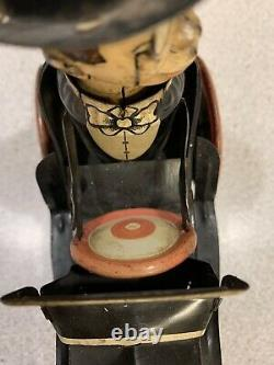 Vintage Marx Charlie McCarthy Benzine Buggy Tin Wind Up Toy
