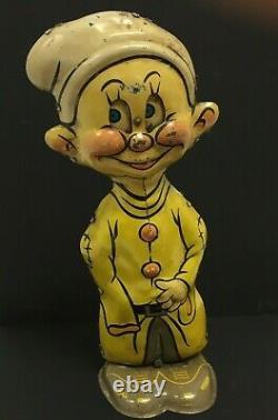 Vintage Marx Dopey 1938, Tin, Windup