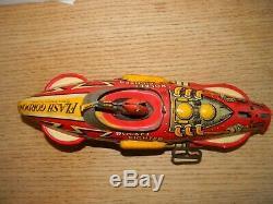 Vintage Marx Flash Gordon Rocket Fighter 5 Wind-Up Tin Toy