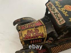 Vintage Marx Jalopy Tin Windup Toy