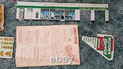 Vintage Marx Midtown Metal Service Station Playset in Box Unbuilt Complete #3445
