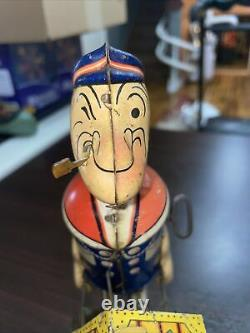 Vintage Marx Popeye Express Wind Up Tin Toy