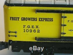 Vintage Marx Tin Litho Fruit Growers Express #10962