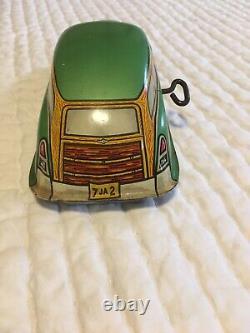 Vintage Marx Tin Litho Wind Up Toy Car