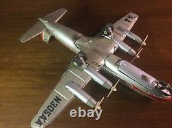 Vintage Marx Toys Line Tin Battery Airplane American Airlines N305AA