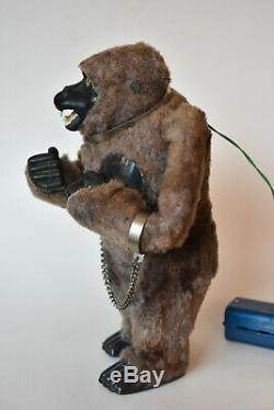 Vintage Marx Toys The Mighty Kong King Kong Battery Operated Vintage Tin Toy