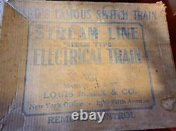 Vintage Marx Wards Switching Train Set #5300mr, Original Box (nice Set) Complete