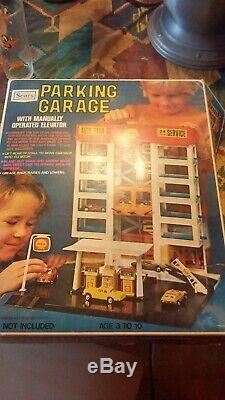Vintage Sears Auto Parking Garage in Original Box/unused