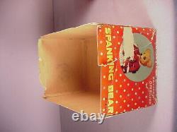 Vintage Spanking Bear Battery Operated Toy 1950's Tin litho Marx Line Mar Japan