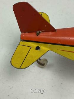 Vintage Tin Wind-up Marx Dagwood Aeroplane