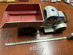 Vintage tin litho truck Marx coal coke rare